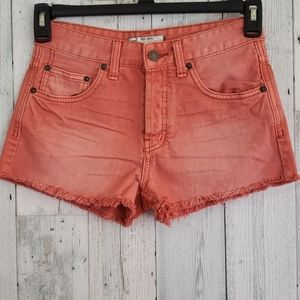 Free People Coral Shorts